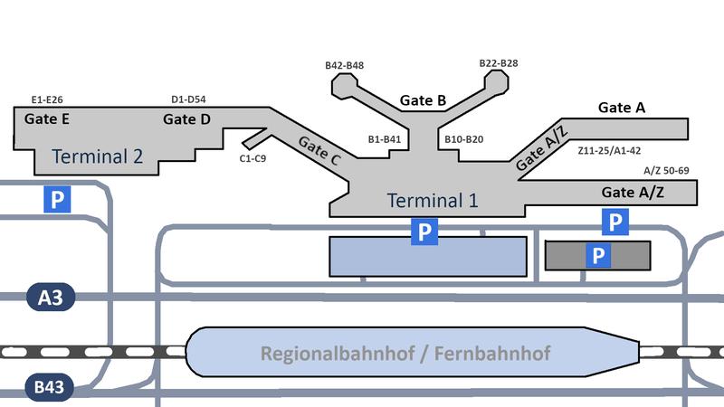 Flughafen Frankfurt Plan Abflug