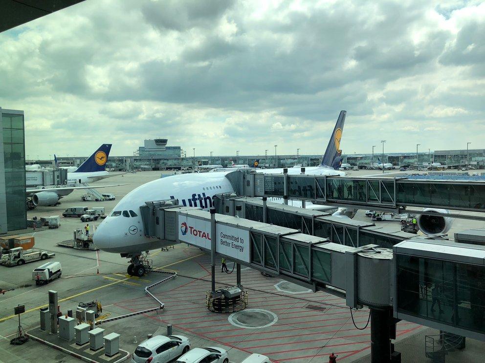 Flugausfall Frankfurt