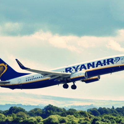 Ryanair Maschine beim Start