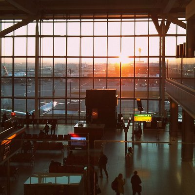 Wartehalle London-Heathrow