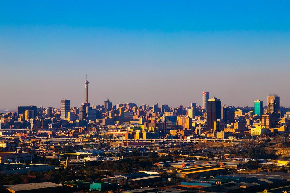 Skyline von Johannesburg